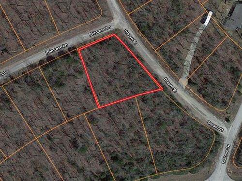Horseshoe Bend Lot For Sale : Horseshoe Bend : Izard County : Arkansas