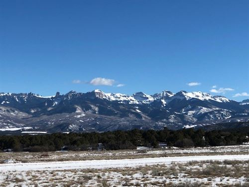 Lot Loghill Alpenview Subdvision : Ridgway : Ouray County : Colorado