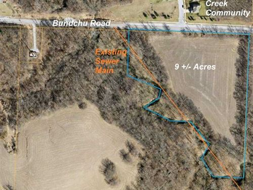Lovely 9.74 M/L Acre Tract on The : Independence : Jackson County : Missouri