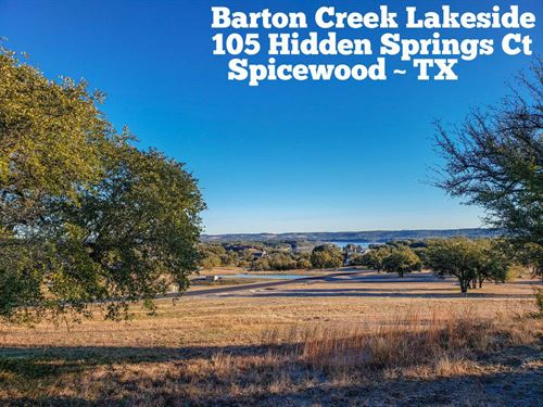 .76 Acres In Burnet County : Spicewood : Burnet County : Texas