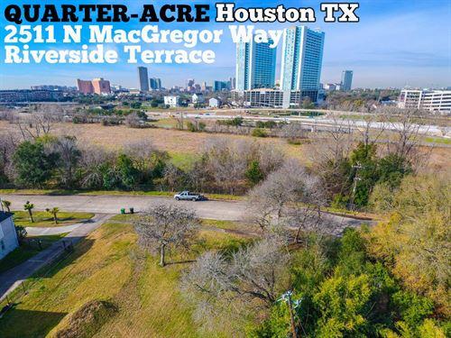 .25 Acres In Harris County : Houston : Harris County : Texas