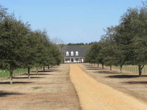 Home & 15 Acres : Magnolia : Pike County : Mississippi