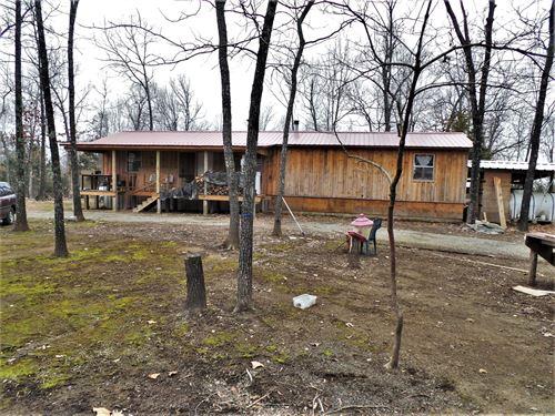 Cabins Acreage Bull Shoals Lake : Yellville : Marion County : Arkansas