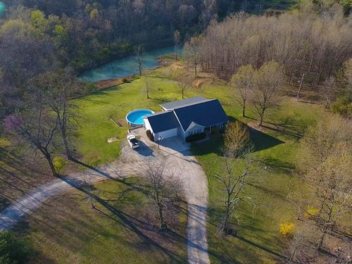 Home For Sale In Southern Missouri : Mountain Grove : Wright County : Missouri