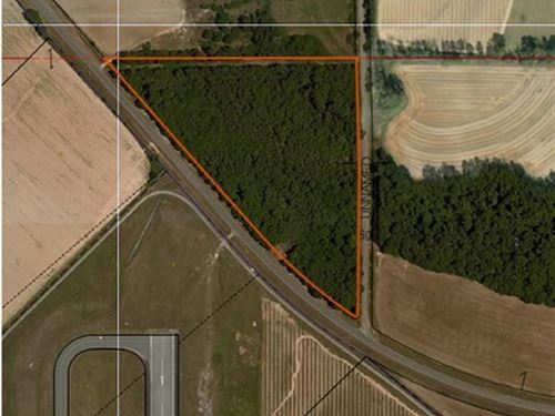 15 Acres With Tons Of Road Frontage : Midland City : Dale County : Alabama