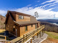 Log Home Overlooking Norris Lake : New Tazewell : Claiborne County : Tennessee