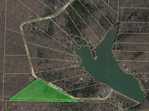 Hunting Land With a Large Stocked : Smithville : Sharp County : Arkansas