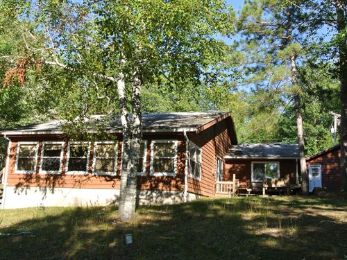 3 Bedroom Home On Pokegama Lake : Lac Du Flambeau : Vilas County : Wisconsin