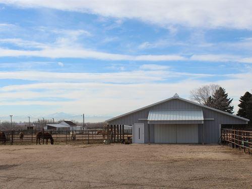 Highway 392 Acreage : Greeley : Weld County : Colorado