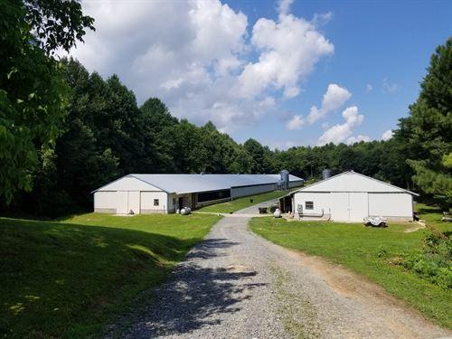 2 House Breeder Poultry Farm : East Ellijay : Gilmer County : Georgia