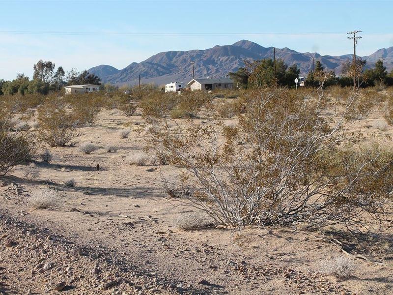 Prime Property, Views, Power, Homes : Newberry Springs : San Bernardino County : California
