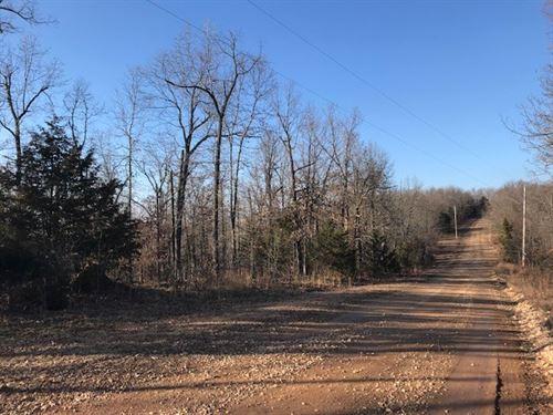 Wooded Acreage Private Setting Bull : Harrison : Boone County : Arkansas