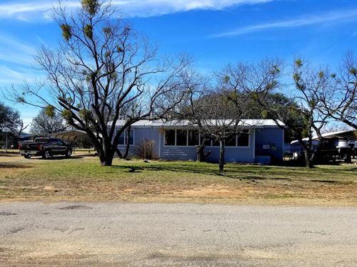 Lake Property In May, Texas : May : Brown County : Texas