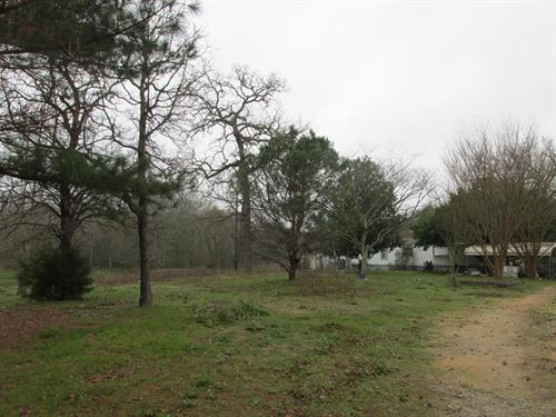 Mobile Home Acreage Anderson County : Palestine : Anderson County : Texas