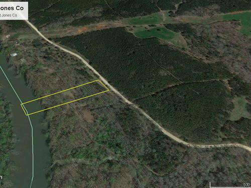 Riverfront Wooded Reduced Blowout : Juliette : Jones County : Georgia