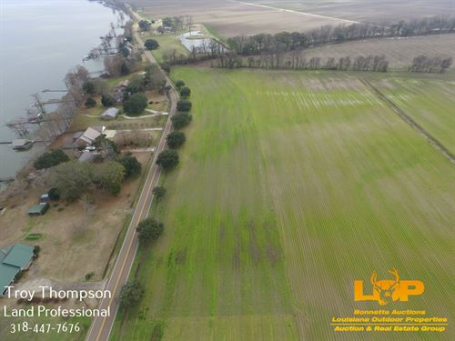 1.58 Acre Lot Near Lake St, John : Ferriday : Concordia Parish : Louisiana