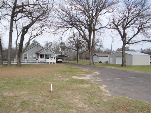 3 East Texas Acres, Large Pond : Winnsboro : Franklin County : Texas