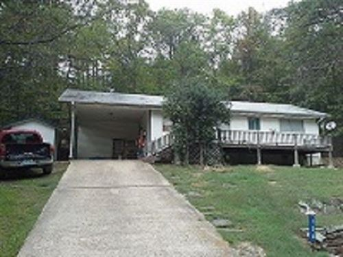 Foreclosed Country Home For Sale : Fairfield Bay : Van Buren County : Arkansas