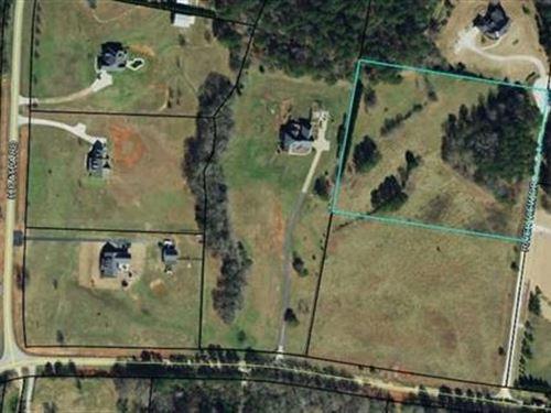 5 +/- Ac Residential Lot : Covington : Walton County : Georgia