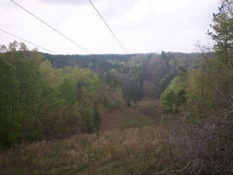 Overlook Coosa River 15 acres : Clanton : Chilton County : Alabama