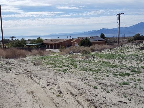 Nice Buildable North Shore Lot : North Shore : Riverside County : California