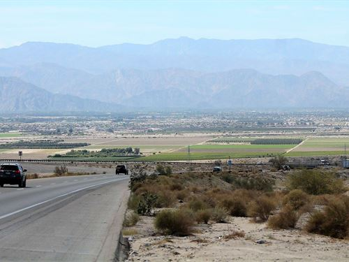 Beautiful Land With Salton Sea View : North Shore : Riverside County : California
