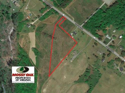 Under Contract, 4.2 Acres of Resi : Smithfield : Surry County : Virginia