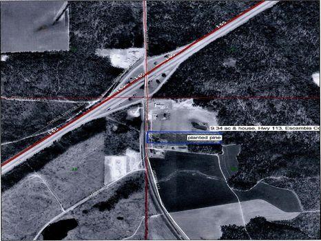 9.34 Ac on I-65/ Hwy 113 : Brewton : Escambia County : Alabama