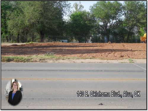 Commercial Lot Highway Frontage : Alva : Woods County : Oklahoma