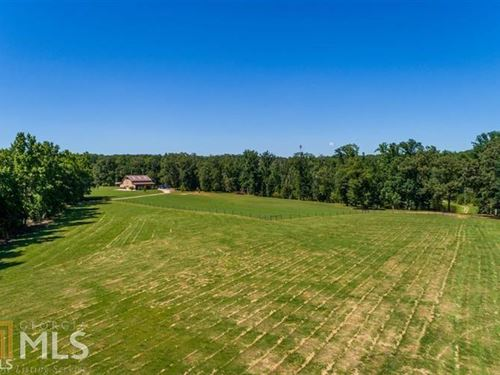 10 Acres Of Fenced Pasture : Madison : Morgan County : Georgia