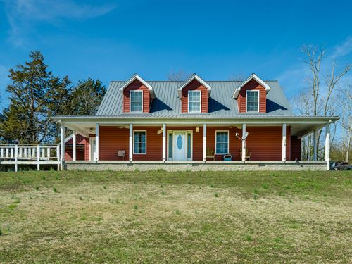 .95 Ac, Cape Cod, 30X40 Pole Barn : Allons : Overton County : Tennessee