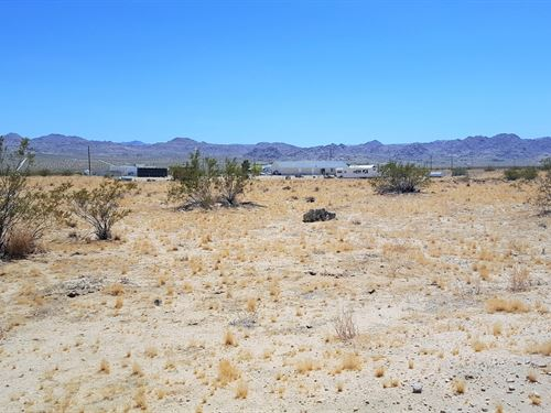 Beautiful Lot-Power-Killer Views : Joshua Tree : San Bernardino County : California