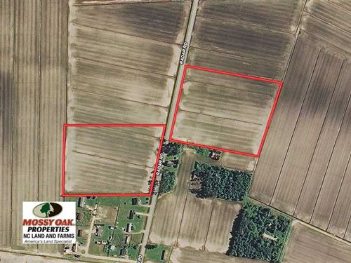 18.5 Acres Farm Land For Sale in : Englehard : Hyde County : North Carolina