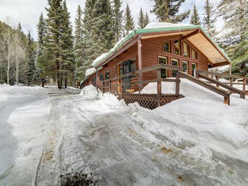 Colorado Mountain Cabin For Sale : Dolores : Montezuma County : Colorado