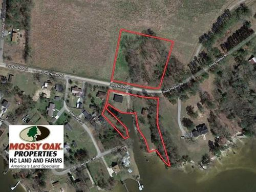 3.8 Acres of Waterfront Land For : Hertford : Perquimans County : North Carolina
