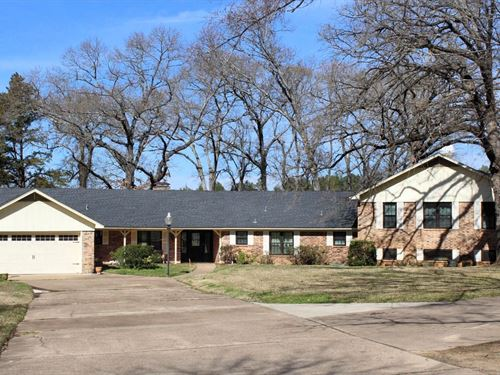 Large Waterfront Home Lake : Bullard : Smith County : Texas