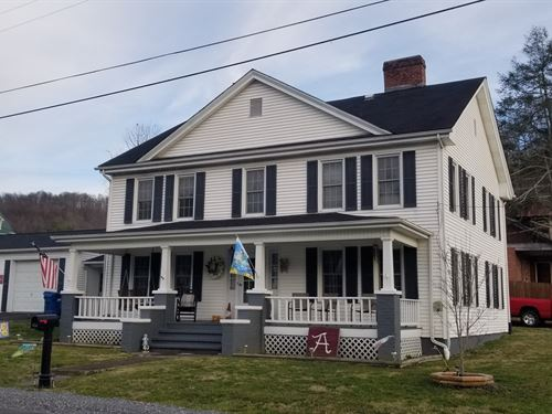 Grand Home Bed & Breakfast : Saltville : Smyth County : Virginia