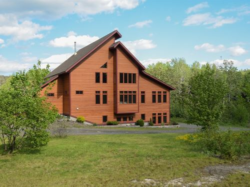 Maine Contemporary Country Home : Fort Kent : Aroostook County : Maine