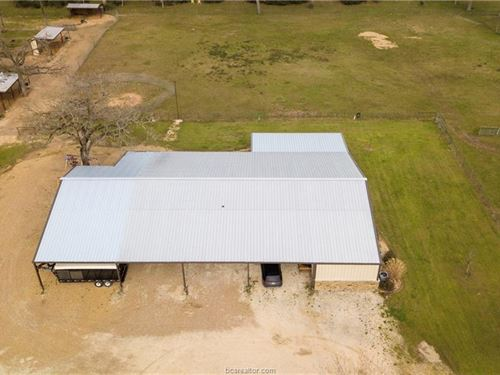 Horse Property In Brazos Valley : Bryan : Brazos County : Texas