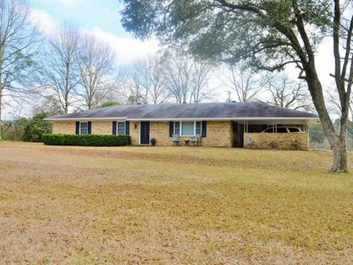 3 Bed/2 Bath Home For Sale, Worksho : Summit : Pike County : Mississippi