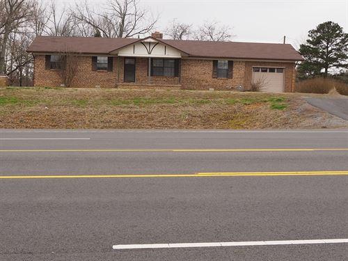 Great Home Commercial Potential Hwy : Damascus : Van Buren County : Arkansas