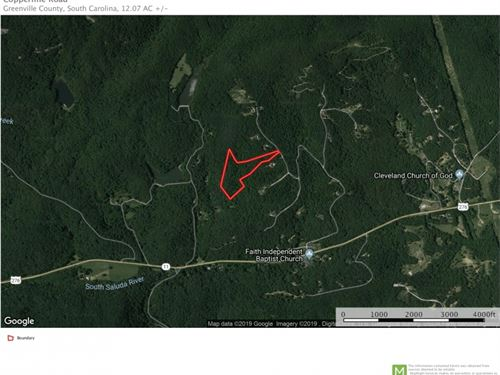 Copperline Dr, 12 Acres Mtn View : Cleveland : Greenville County : South Carolina