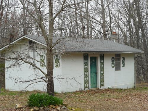 No.01636 Two Small Homes 1 Acre Mtn : Mountain View : Stone County : Arkansas
