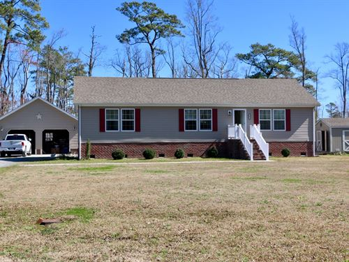 Lovely Country Home & Separate : Columbia : Tyrrell County : North Carolina