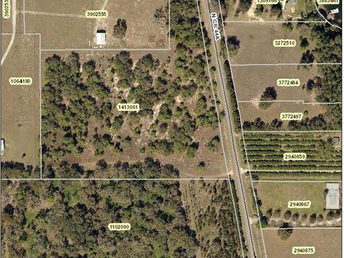 11.5 Level Acres On Cr 44A : Eustis : Lake County : Florida
