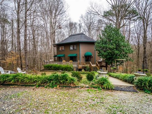 Charming Home On 5.02 Acres : Madison : Morgan County : Georgia