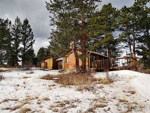 Mountain Getaway Home : Red Feather Lakes : Larimer County : Colorado