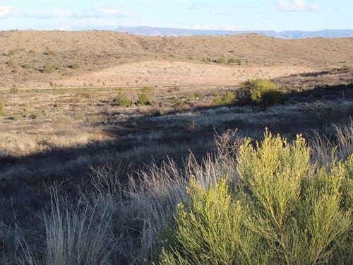 Land to Build in Central Arizona : Mayer : Yavapai County : Arizona