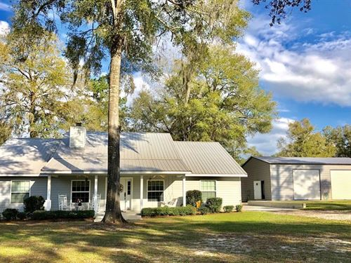 Energy Efficient 3/2 Country Home : Bell : Gilchrist County : Florida