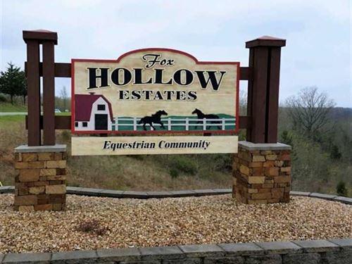 Fox Hollow Estates, Lot 2 : Chestnutridge : Taney County : Missouri